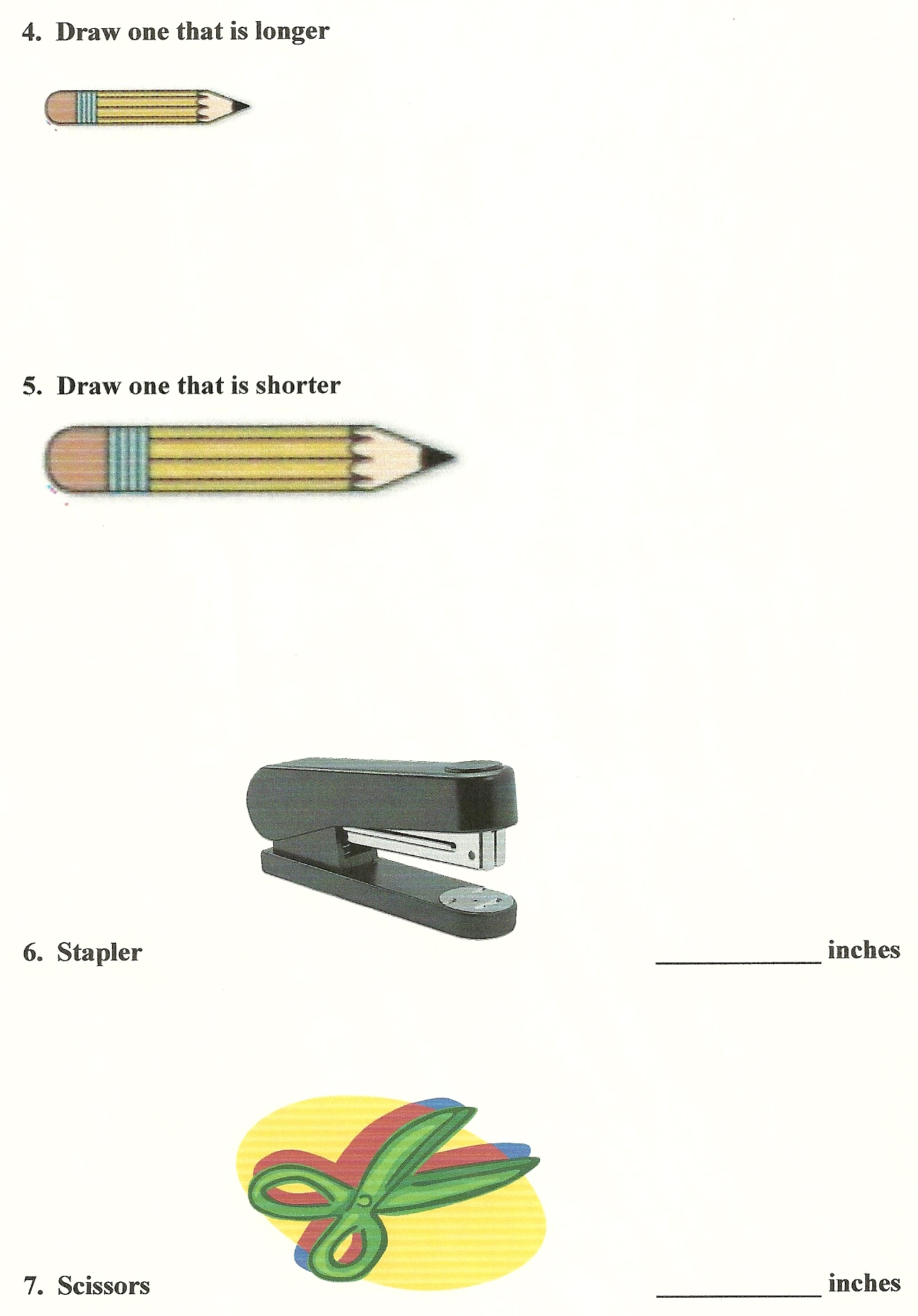 Kindergarten Measurements