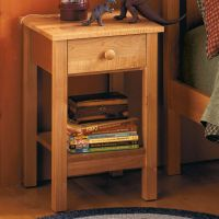 Simple Nightstand Plans DIY Free Download make your own