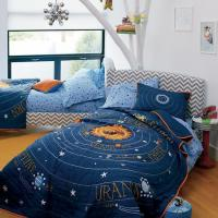 SOLAR SYSTEM AND SPACE BEDDING - KIDS ROOM DECOR