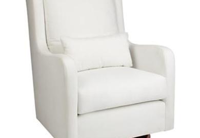 Nursery Glider Chair White