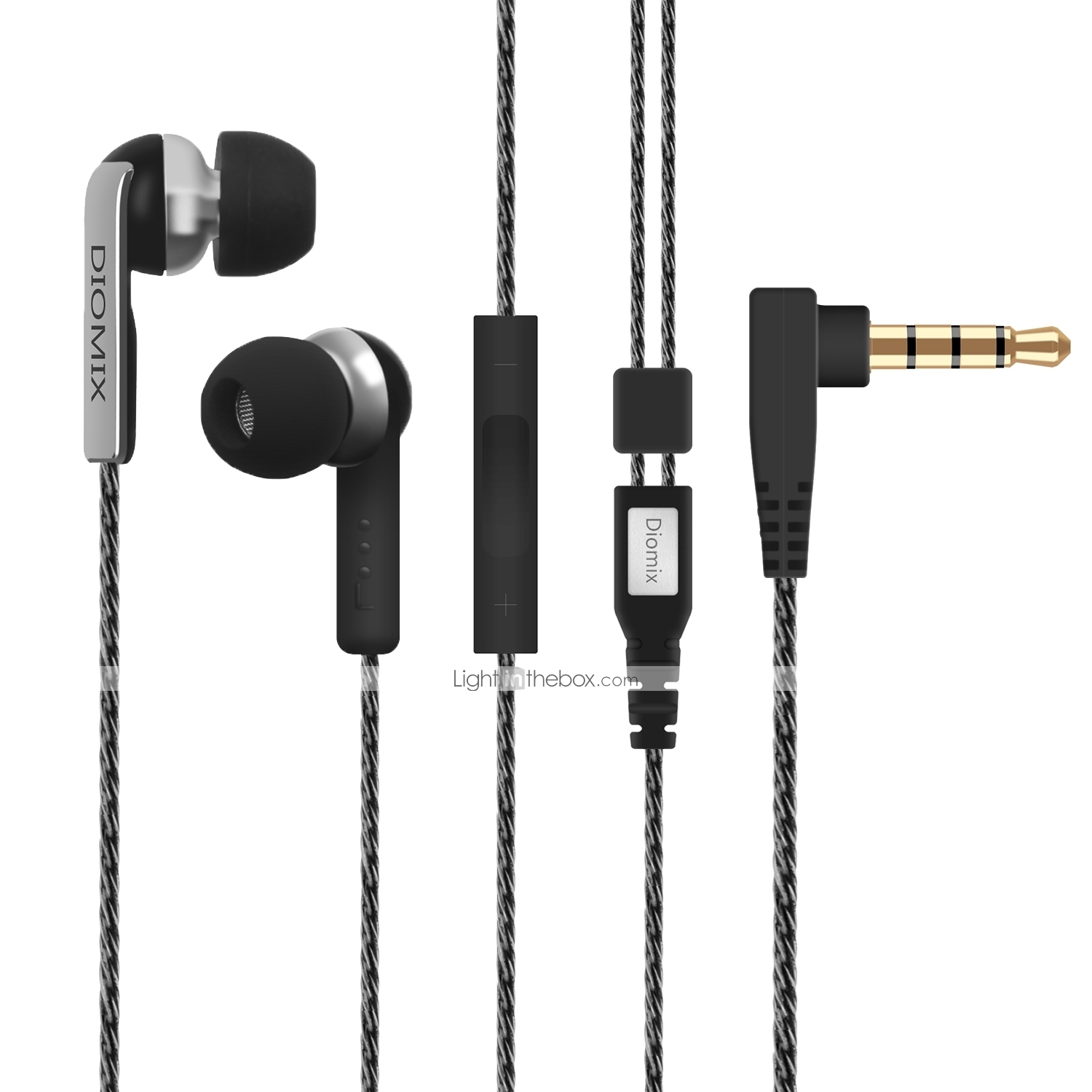 hight resolution of litbest wired in ear eeadphone wired mobile phone with microphone 07221271