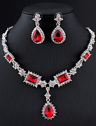 Red Jewelry Sets : jewelry, Jewelry, Lightinthebox.com