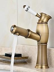 antique copper faucet bathroom