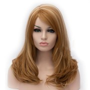 synthetic wig curly deep wave