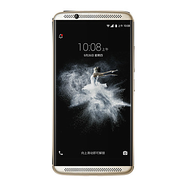 ZTE AXON 7 5.5 2.5D 2K Android 6.0 4G Fingerprint Metal Smartphone (OTG NFC Dual SIM Quad Core 20MP 4GB 128GB 3250mAh Battery QC3.0)