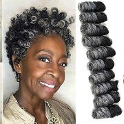 bouncy curl crochet 100 kanekalon