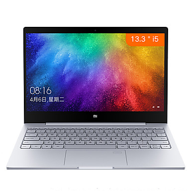 Xiaomi laptop notebook Air 13.3 with Fingerprint Sensor Integrated Graphics 13.3 inches IPS Intel i5 i5-7200U 8GB GDDR4 256GB SSD Intel HD