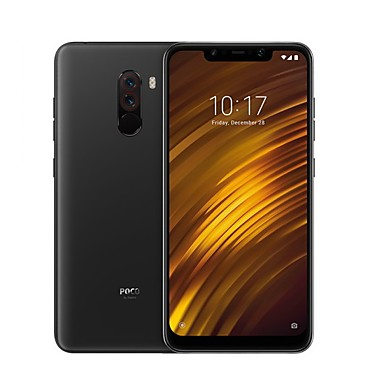 "Xiaomi Pocophone F1 Global Version 6.18 inch "" 4G Smartphone (6GB + 64GB 5 mp / 12 mp Snapdragon 845 4000 mAh mAh) / Dual Camera"