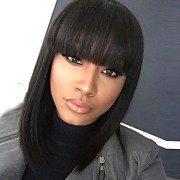 synthetic wig straight kardashian
