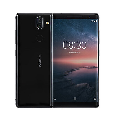 "NOKIA Nokia 8 Sirocco 5.5 inch "" 4G Smartphone (6GB + 128GB 12 mp / 13 mp Qualcomm Snapdragon 835 3260 mAh mAh) / 2560x1440"