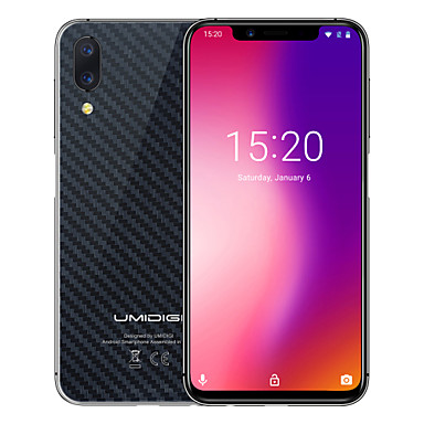 "UMIDIGI One Pro 5.9 pulgada "" Smartphone 4G ( 4GB + 64GB 5 mp / 12 mp MediaTek Helio P23 3250 mAh mAh )"