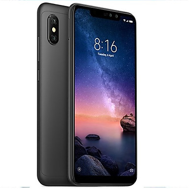 "Xiaomi Redmi note6 pro Global Version 6.26 inch "" 4G Smartphone (3GB + 32GB 5 mp / 12 mp Snapdragon 636 4000 mAh mAh) / Dual Camera"