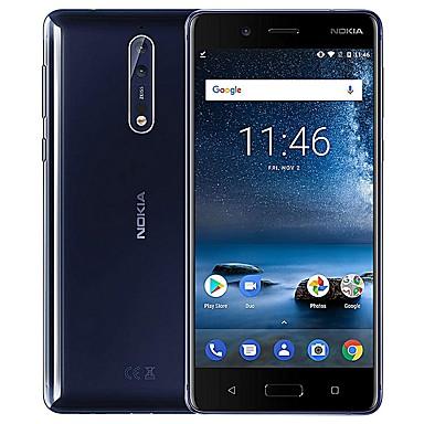 "NOKIA 8 Global Version 5.3 inch "" 4G Smartphone (6GB + 128GB Flashlight / 13 mp Qualcomm Snapdragon 835 3090 mAh mAh) / 2560x1440"