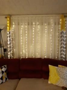 window curtain string light 3 x 3m 300