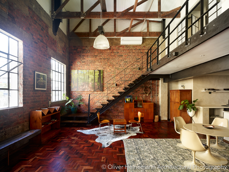 new york loft style living room contemporary sofas apartment 7 vacation home in cape town