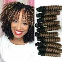 Bouncy Curl Synthetic ombre braiding hair braids kanakalon