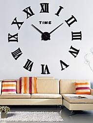 living room clocks next feng shui colors 2016 wall art stickers clock lightinthebox com large roman acrylic mirror diy home decoration modern design
