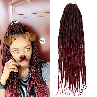 Box Braids Ombre Braiding Hair Synthetic Hair 1pack