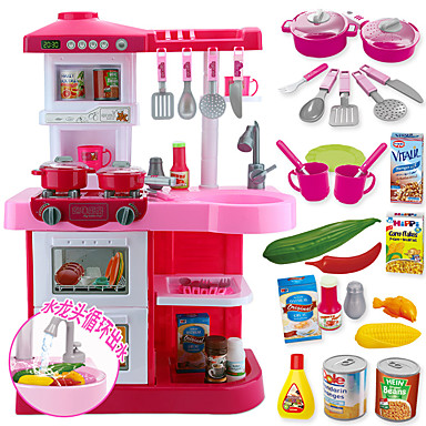 toy kitchen sets mobile islands for kitchens set dishes tea food play large size pvc polyvinyl chloride kid s boys girls gift 5740083 2019 59 99