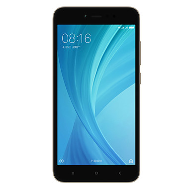 Xiaomi REDMI NOTE 5A 5.5 inch 4G Smartphone Global Version(2GB+16GB 13MP Quad Core 3080mAh)
