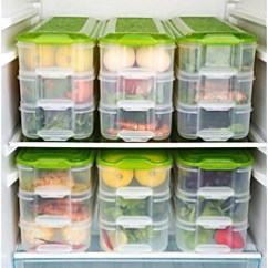 Cheap Kitchen Storage Island With Seating Online For 2019 1pc Food Plastic Easy To Use Organization