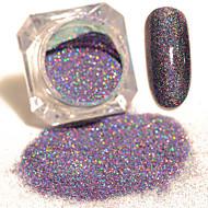 1 Box Starry Holographic Laser Powder Manicure Nail Art Glitter Mixed