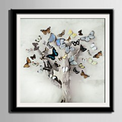 Framed Artwork For Living Room Chandeliers Rooms Cheap Arts Online 2019 Canvas Set Animals Floral Botanical Wall Art Pvc Material With Frame Home Decoration Bedroom Kitchen