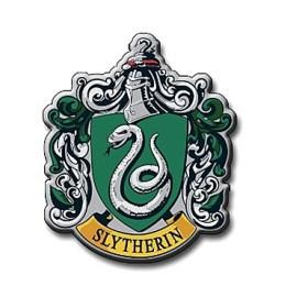 Harry Potter Slytherin logotipo multicolor de tatuaje para