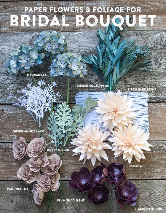 DIY_Flower_Foilage_Paper_Rustic