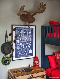 Camping Bedroom Decor - Lia Griffith