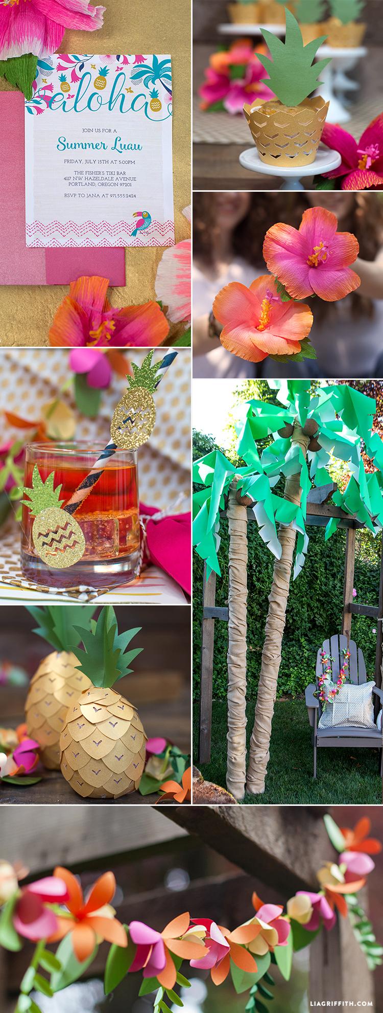 Luau Party Decorations Ideas Elitflat