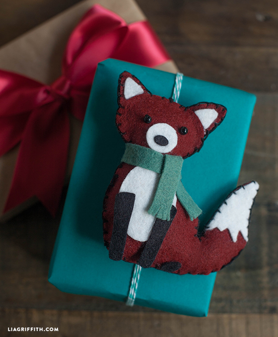 Felt Fox Ornament : ornament, Animal, Ornament, Griffith