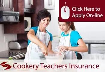cookery teachers liability insurance