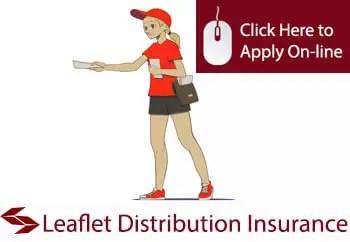 leaflet distributors public liability insurance
