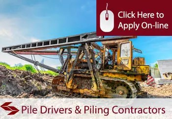 pile driving and piling contractors liability insurance