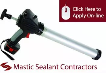 mastic sealant contractors public liability insurance