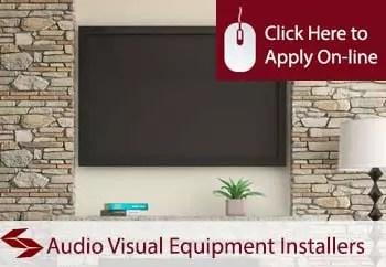 audio visual equipment installers public liability insurance