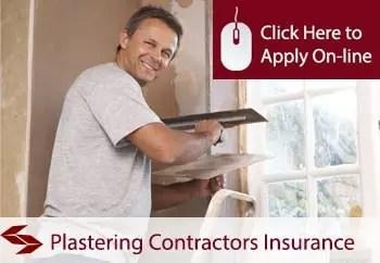 plastering contractors public liability insurance