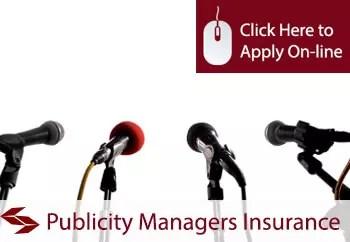 publicity managers public liability insurance