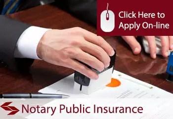 notaries public public liability insurance