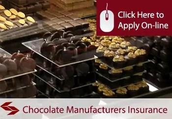 chocolate manufacturers public liability insurance