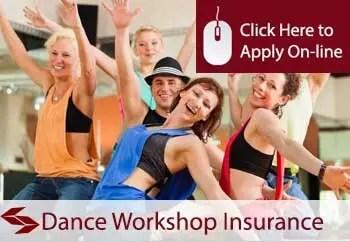 dance workshops public liability insurance