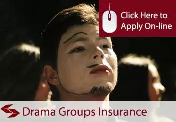drama groups public liability insurance