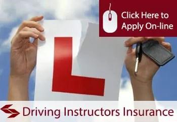 driving instructors public liability insurance