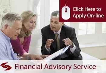 financial advisory services public liability insurance