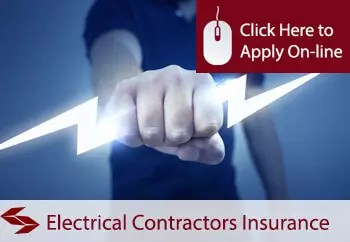 electrical contractors excl aerial erecting public liability insurance