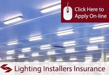 lighting installers public liability insurance