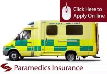 paramedics public liability insurance