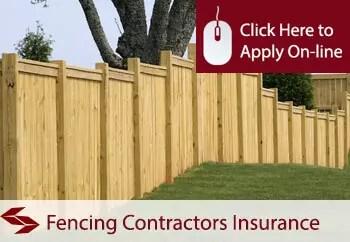 fence erectors public liability insurance