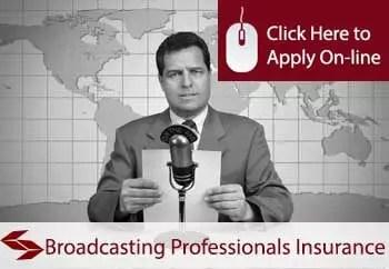 broadcasting professionals public liability insurance